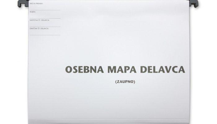 Osebna mapa delavca